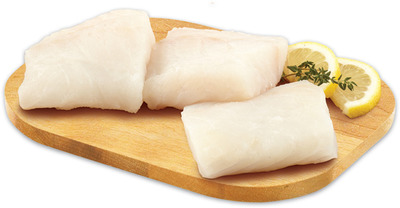 FRESH SKINLESS ICELANDIC COD PORTIONS