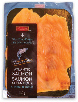 IRRESISTIBLES SMOKED ATLANTIC SALMON OR SMOKED SOCKEYE SALMON