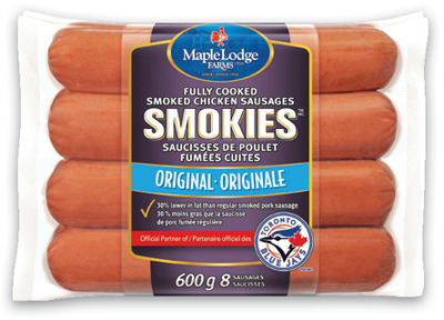 MAPLE LODGE SMOKIES OR ULTIMATE CHICKEN WIENERS