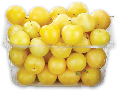 Ontario Peaches 3 L Yellow Plums 1.5 L OR Basket Cucumbers 3 L
