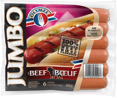 OLYMEL ALL BEEF WIENERS