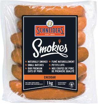 SCHNEIDERS SMOKIES SAUSAGES