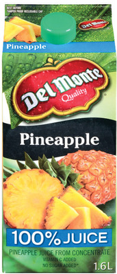 DEL MONTE REFRIGERATED JUICE