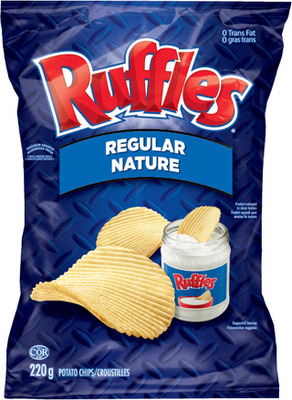 RUFFLES CHIPS, DORITOS TORTILLA CHIPS OR CHEETOS SNACKS