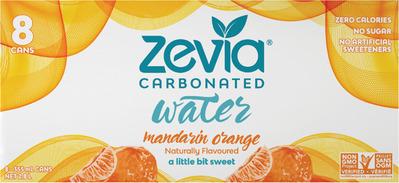 ZEVIA CARBONATED WATER