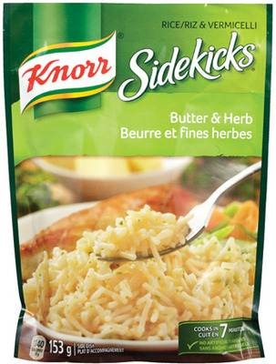 KNORR SIDEKICKS, LIPTON SOUP OR UNCLE BENS FAST & FANCY RICE
