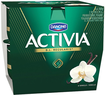 DANONE ACTIVIA 8 X 100 g, 650 g or OIKOS GREEK YOGURT 500 g