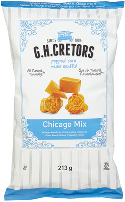 G.H. CRETORS POPCORN OR QUE PASA TORTILLA CHIPS