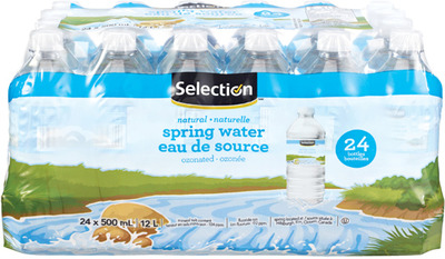 SELECTION SPRING WATER 24 X 500 ml or SELECTION WATER ENHANCERS 48 ml