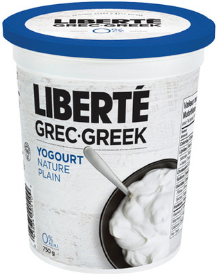 LIBERTÉ GREEK YOGURT 750 g or YOPLAIT WHOLE MILK YOGURT 12 X 100 g