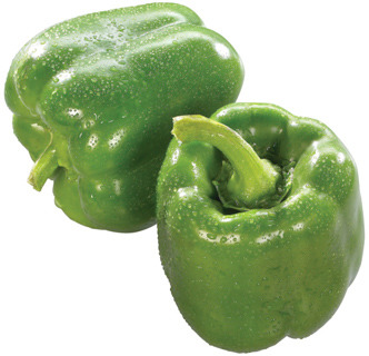 Green Sweet Peppers, Eggplants, Field or Roma Tomatoes