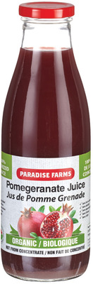 PARADISE FARMS ORGANIC POMEGRANATE JUICE