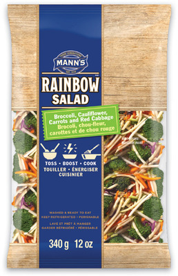 MANN'S RAINBOW SALAD OR BROCCOLI COLE SLAW