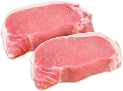 Boneless Pork Loin Chops Value Pack or Roast
