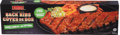 IRRESISTIBLES COOKED PORK BACK RIBS OR PORK SHANKS