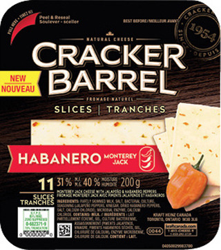 CRACKER BARREL CHEESE SNACKS 168 g or NATURAL CHEESE SLICES 200 - 240 g