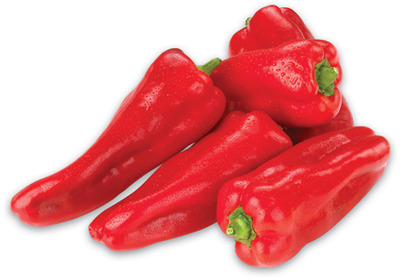 RED SWEET SHEPHERD PEPPERS