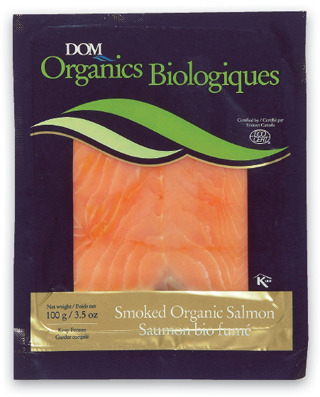 DOM ORGANICS SMOKED ATLANTIC SALMON