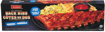 IRRESISTIBLES PORK BACK RIBS OR PORK SHANKS FULLY COOKED