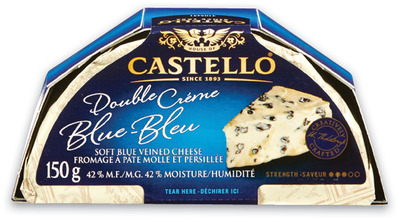 CASTELLO DOUBLE CRÈME WHITE OR BLUE OR TRADITIONAL OR EXTRA CREAMY BLUE CHEESE