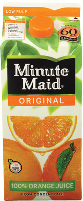MINUTE MAID REFRIGERATED JUICE