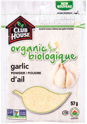 CLUB HOUSE ORGANIC SPICES