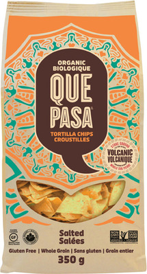 QUE PASA TORTILLA CHIPS 300 - 350 g OR SKINNY POP POPCORN 125 g