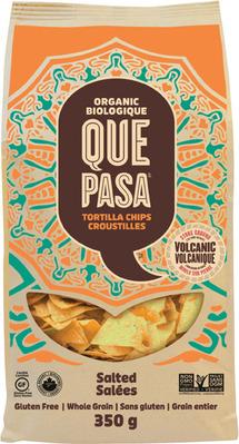 QUE PASA TORTILLA CHIPS 300 - 350 g OR SKINNY POP POPCORN 125 g