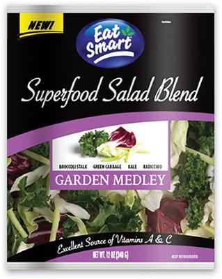 GARDEN MEDLEY SALAD 340 g HEARTY GREENS SALAD 340 g
