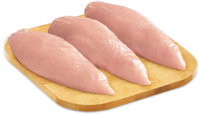 Fresh Boneless Skinless Turkey Breast Fillets 13.21/kg