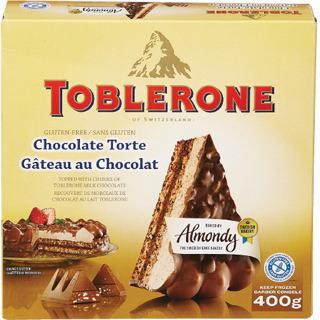 TOBLERONE GLUTEN FREE CAKE