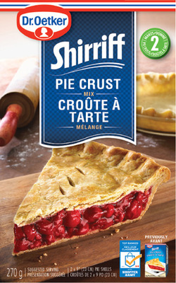 DR. OETKER SHIRRIFF PIE CRUST