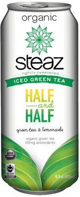 STEAZ ICED GREEN TEA
