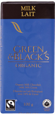 GREEN & BLACK'S ORGANIC CHOCOLATE BAR