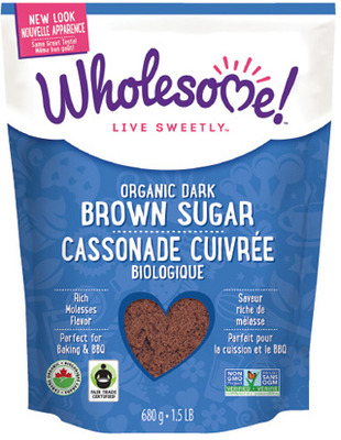WHOLESOME ORGANIC SUGAR OR BROWN SUGAR