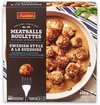 IRRESISTIBLES MEATBALLS SELECTED VARIETIES OR PUFF PASTRY PARTY PACK FROZEN, 432 - 680 g
