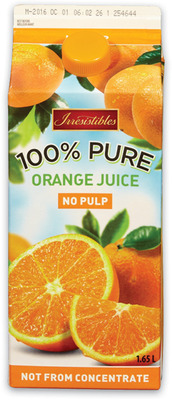 IRRESISTIBLES ORANGE JUICE OR BLENDS