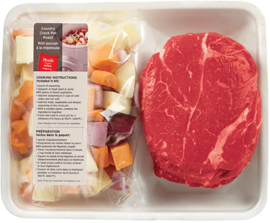 RED GRILL BONELESS INSIDE BLADE ROAST SLOW COOKER KIT