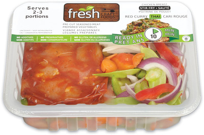 Fresh Meat Stir Fry Kit