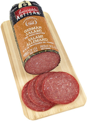 IRRESISTIBLES ARTISAN SALAMI, SUMMER SAUSAGE OR HARDWOOD SMOKED HAM OR PORK