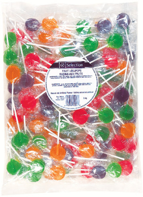 SELECTION FRUIT LOLLIPOP CANDY
