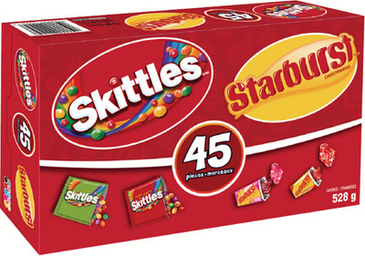 SKITTLES AND STARBURST CANDY