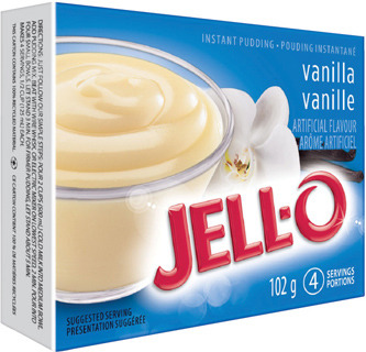 JELL-O INSTANT PUDDING