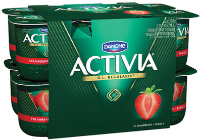 DANONE ACTIVIA YOGURT 12 X 100 g YOPLAIT SOURCE YOGURT 16 X 90 - 100 g