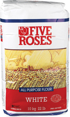 FIVE ROSES OR ROBIN HOOD FLOUR