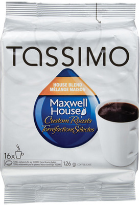 MAXWELL HOUSE, TIMOTHY'S OR VAN HOUTTE TASSIMO T DISC OR K-CUP COFFEE CAPSULES