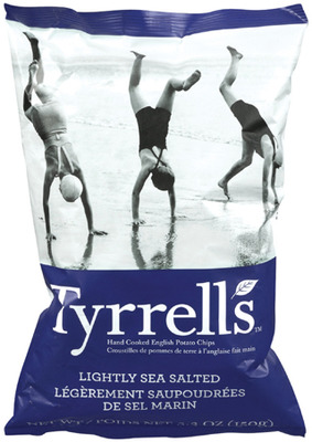 TYRRELL'S CHIPS, SKINNY POP POPCORN OR PAQUI TORTILLA CHIPS