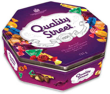 Nestlé Quality Street Chocolates and Caramels