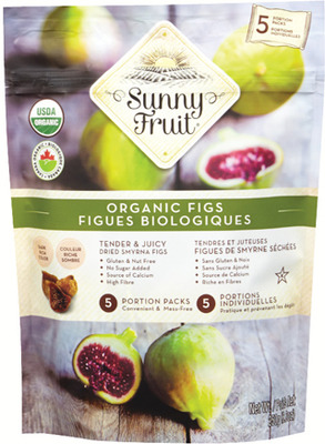 SUNNY FRUIT ORGANIC DRIED FIGS OR APRICOTS