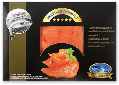 NORWEGIAN ATLANTIC SMOKED SALMON